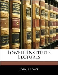 Lowell Institute Lectures