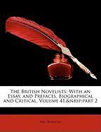 The British Novelists: With an Essay, and Prefaces, Biographical and Critical, Volume 41, Part 2 - Barbauld