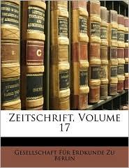 Zeitschrift, Volume 17