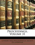 Proceedings, Volume 31