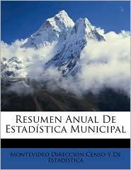 Resumen Anual de Estadstica Municipal