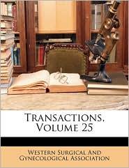 Transactions, Volume 25