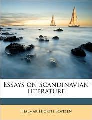 Essays on Scandinavian Literature