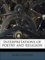 Interpretations of poetry and religion