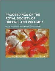 Proceedings of the Royal Society of Queensland