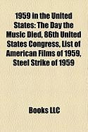 1959 in the United States: 86th United States Congress