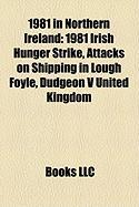 1981 in Northern Ireland: 1981 Irish Hunger Strike, Attacks on Shipping in Lough Foyle, Dudgeon V United Kingdom