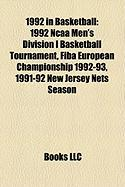 1992 in Basketball: 1992 NCAA Men's Division I Basketball Tournament