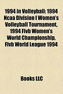 1994 in Volleyball: 1994 NCAA Division I Women's Volleyball Tournament