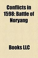 Conflicts in 1598: Battle of Noryang
