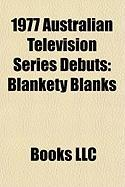 1977 Australian Television Series Debuts: Blankety Blanks