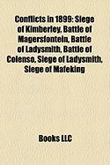 Conflicts in 1899: Siege of Kimberley
