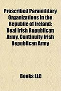 Proscribed Paramilitary Organizations in the Republic of Ireland: Real Irish Republican Army