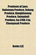 Provinces of Laos: Oudomxay Province
