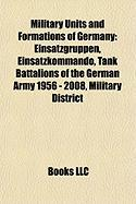 Military Units and Formations of Germany: Einsatzgruppen