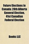 Future Elections in Canada: 28th Alberta General Election