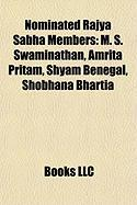 Nominated Rajya Sabha Members: M. S. Swaminathan