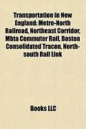 Transportation in New England: Northeast Corridor