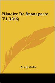 Histoire de Buonaparte V1 (1816)