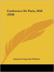 Conference de Paris, 1858 (1858)