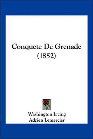 Conquete de Grenade (1852)