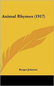Animal Rhymes (1917)