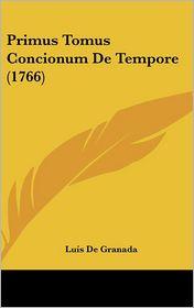 Primus Tomus Concionum de Tempore (1766)