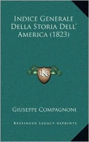 Indice Generale Della Storia Dell' America (1823)