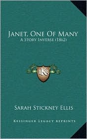 Janet, One of Many: A Story Inverse (1862)