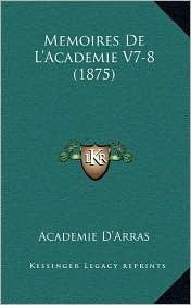 Memoires de L'Academie V7-8 (1875)