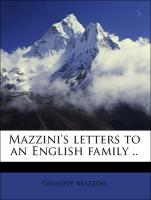 Mazzini's letters to an English family ..
