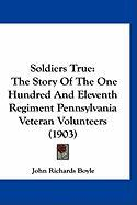 Soldiers True: The Story of the One Hundred and Eleventh Regiment Pennsylvania Veteran Volunteers (1903) - Boyle, John Richards