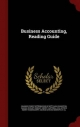 Business Accounting, Reading Guide (Hardback)