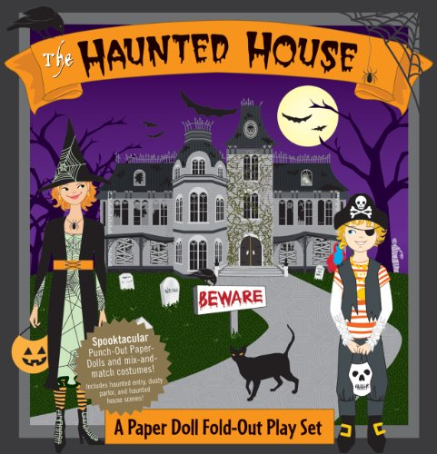 Haunted House: A Book and Paper Doll Fold-Out Play Set - Bump N. DeNight