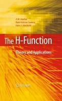 The H-Function: Theory and Applications