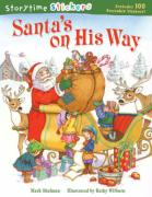 Santa's on His Way [With 100 Reusable Stickers] - Shulman, Mark