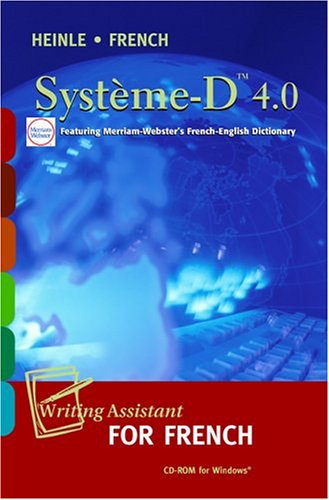 Syst?me-D 4.0 CD-ROM: Writing Assistant for French - James S. Noblitt