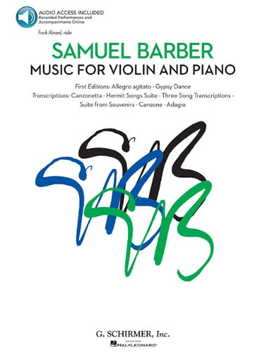 Music For Violin And Piano Book/Audio - Almond, Frank; Walters, Richard; Lanning, Jerry; Parman, Joshua