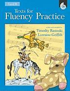 Texts for Fluency Practice Level B - Rasinski, Timothy; Griffith, Lorraine