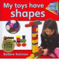 My Toys Have Shapes - CD + Hc Book - Package