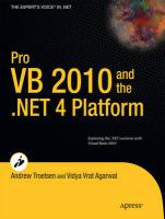 Pro VB 2010 and the .NET 4.0 Platform (Expert's Voice in .NET)