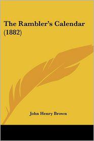 The Rambler's Calendar (1882)