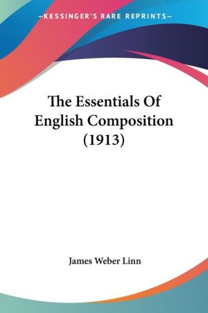 The Essentials of English Composition (1913)