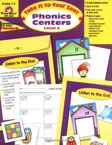 Take It to Your Seat Phonics Centers, Grades 1-2 - Evan Moor