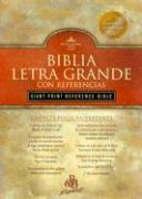 Giant Print Reference Bible-RV 1960