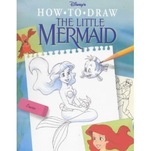 Disney How to Draw the Little Mermaid (How to Draw Series) - Philo Barnhart
