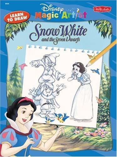 Disney How to Draw Snow White (Disney Classic Character Series) - Walter Foster