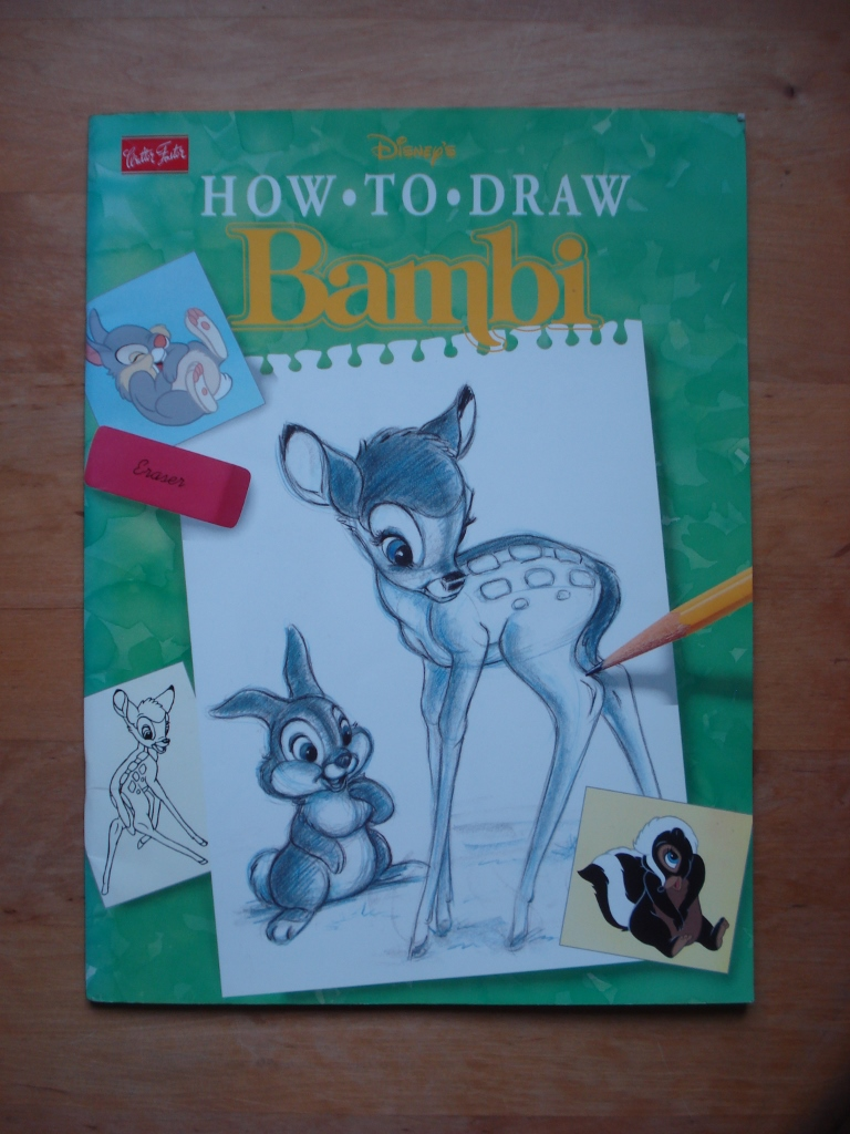 Disney's How To Draw Bambi - Illustrated by David Pacheco and Diana Wakeman
