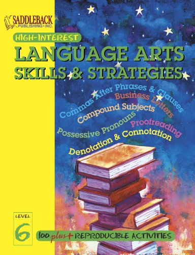 Language Arts Skills  &  Strategies Level 6 (Highinterest Englishlanguage Arts Skills  &  Strategies) - Pearl Production (EDT)