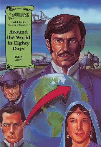 Around the World in Eighty Days (Illustrated Classics) - Jules Verne
